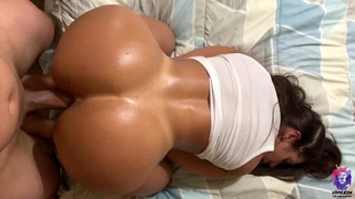 Came Twice With Her Moist Vagina And Ass Bouncing On My Dick