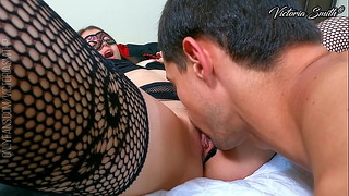 Petite Pussy and Clit Licking, Real Wet and Drooling